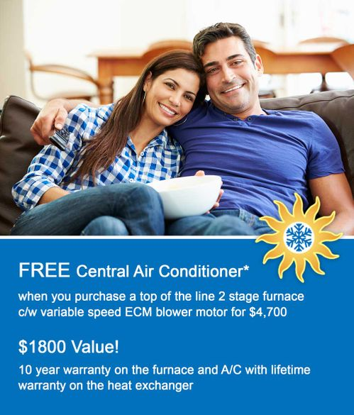 Free Central Air Conditioner
